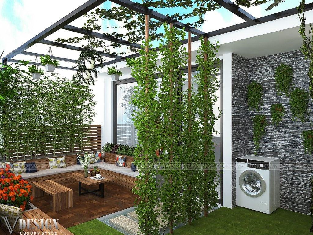 Thiết kế nhà lô phố Bắc Từ Liêm