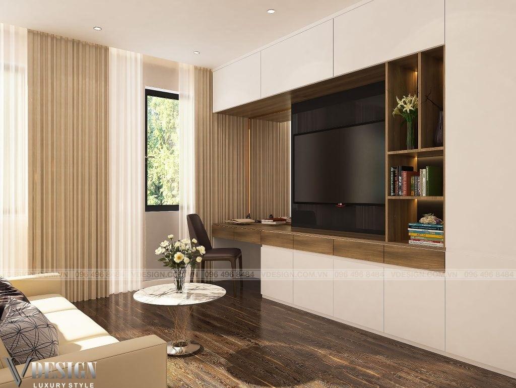 thiết kế nội thất biệt thựVinhomes Gardenia Hàm Nghi